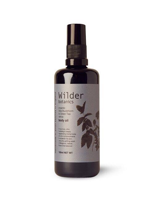 Organic Sea Buckthorn & Green Tea Detox Body Oil