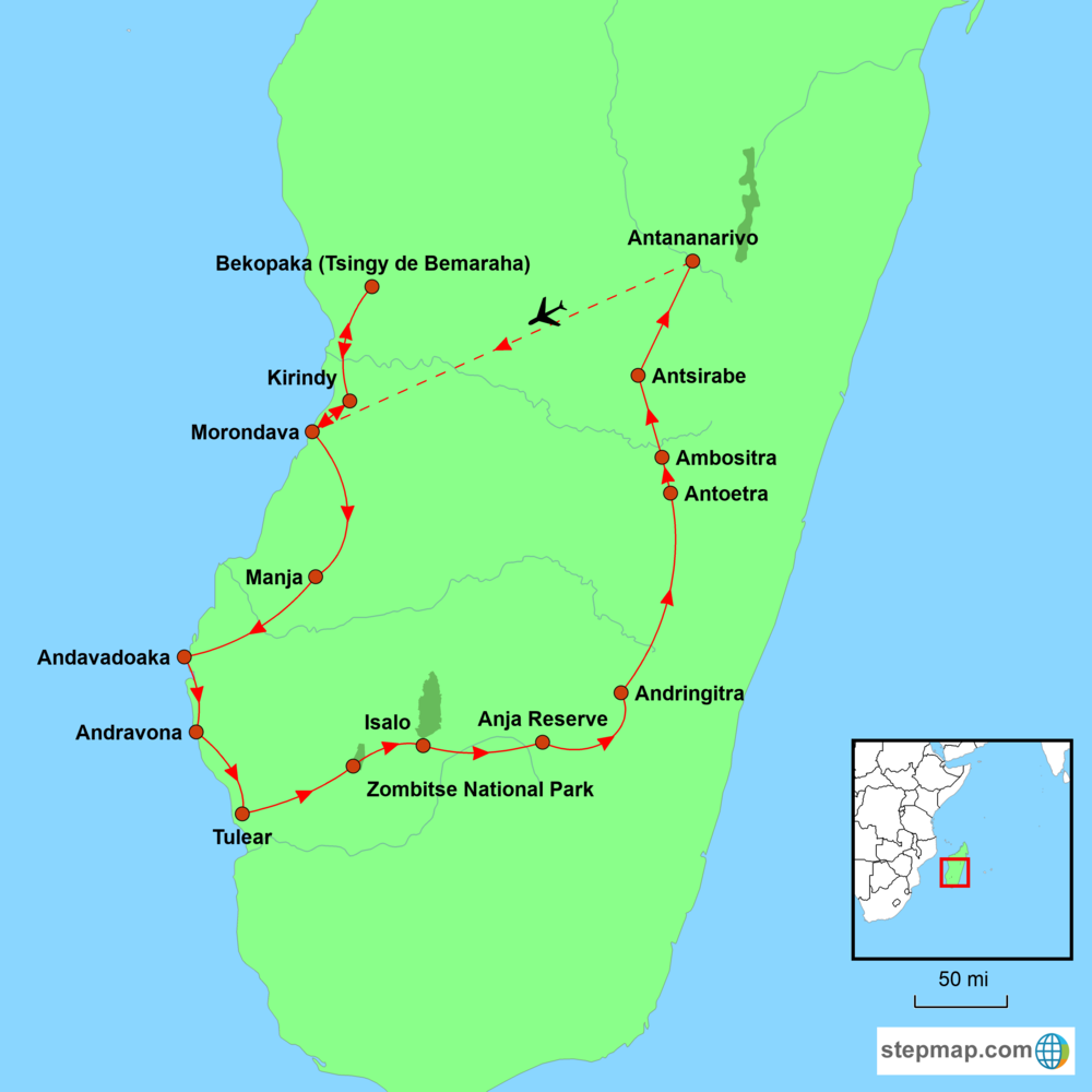 Landscapes and Wildlife of Madagascar Map.png
