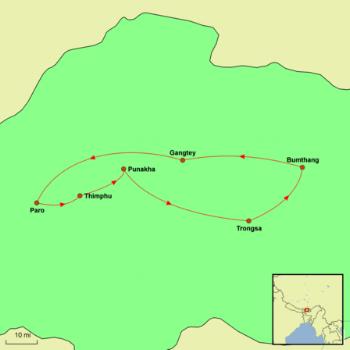 Bhutan Map - Best of.png