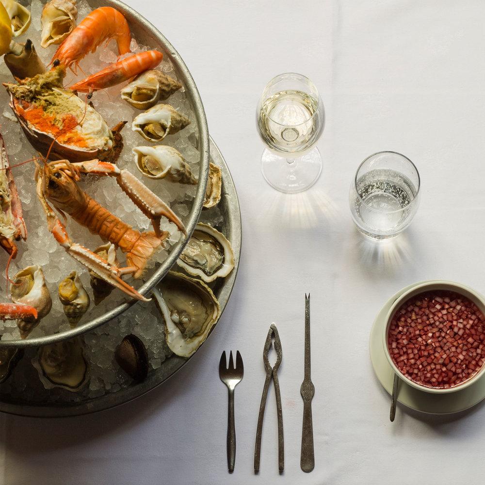 Fruits de mer - Découvrez notre sélection d'huîtres, coquillages et crustacés.