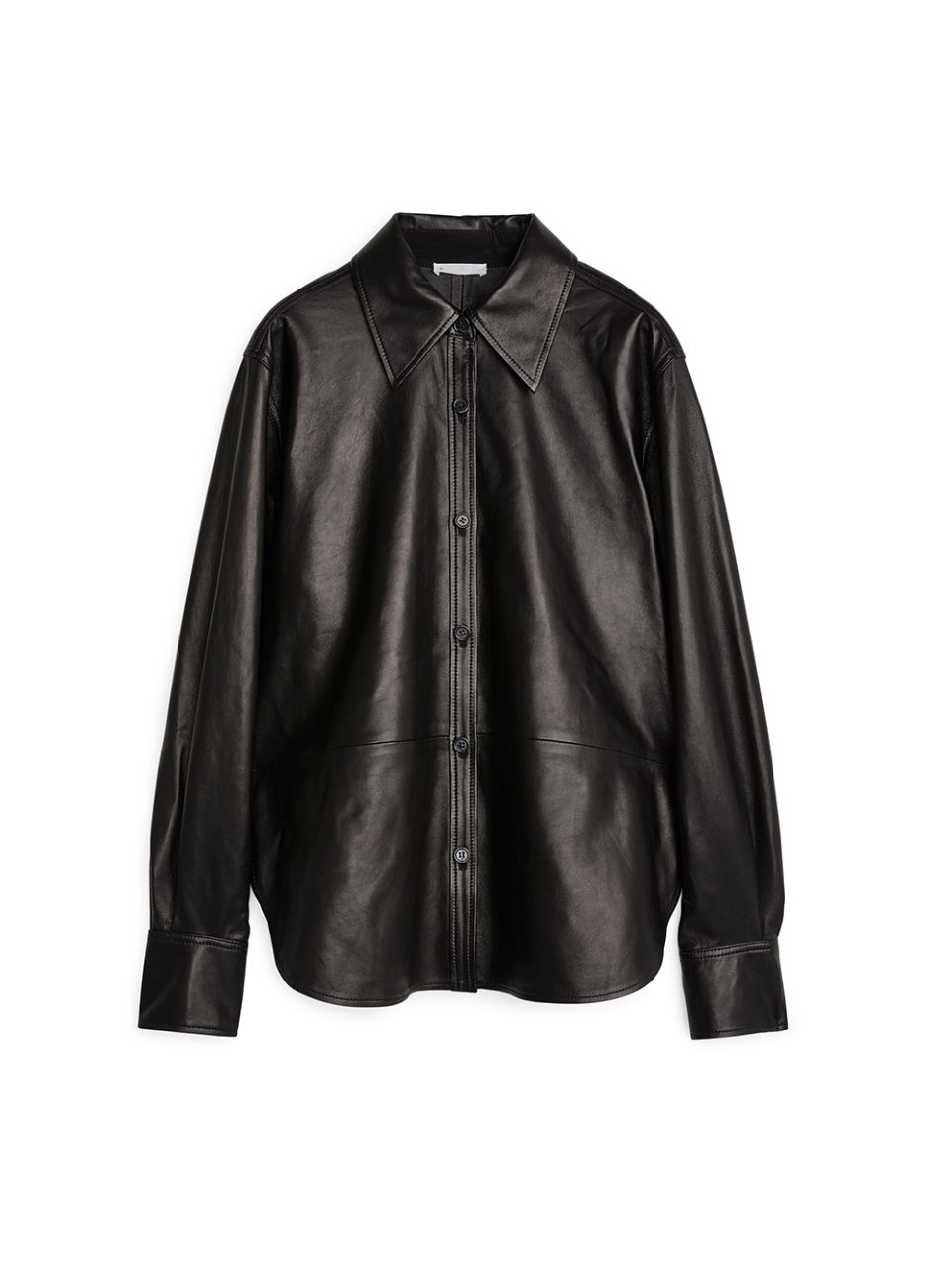 ARKET leather shirt