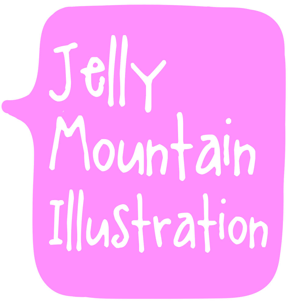 Jelly Mountain Illustration
