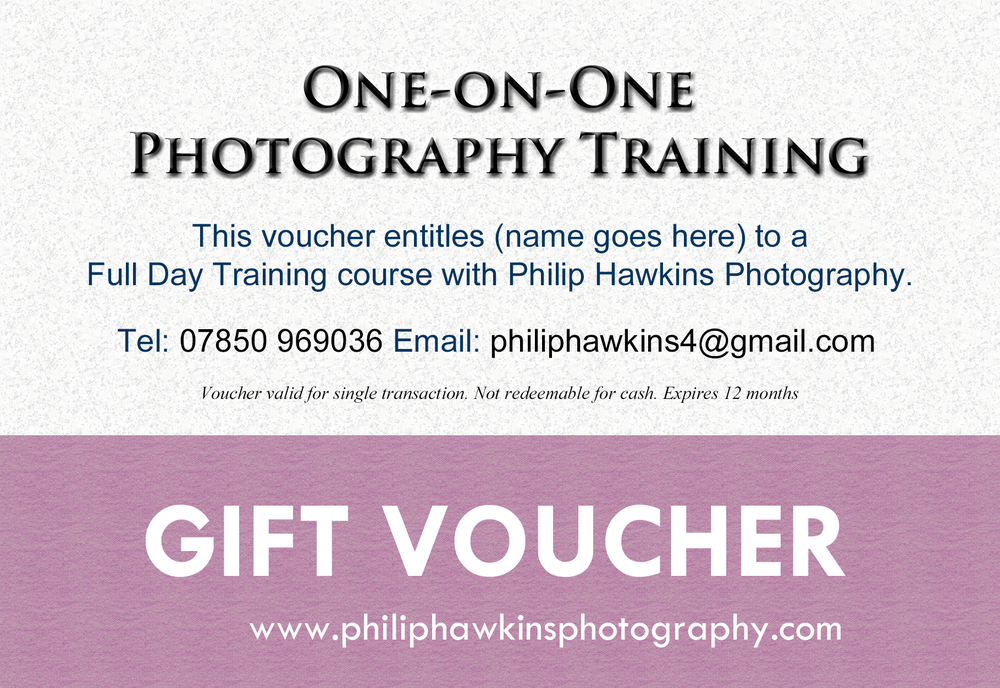 Photography Training Course Gift Voucher