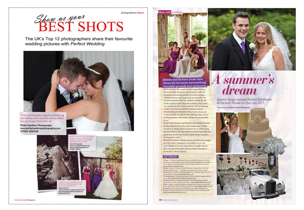Wedding Photography magazine features