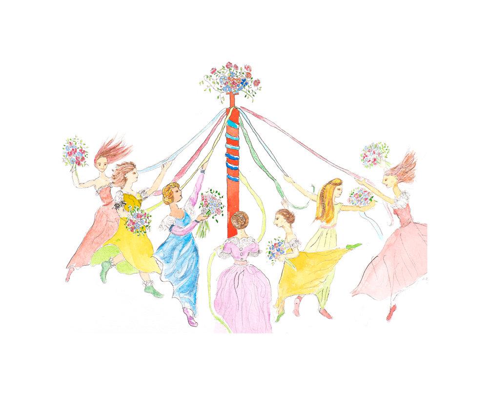 Maypole Dancers