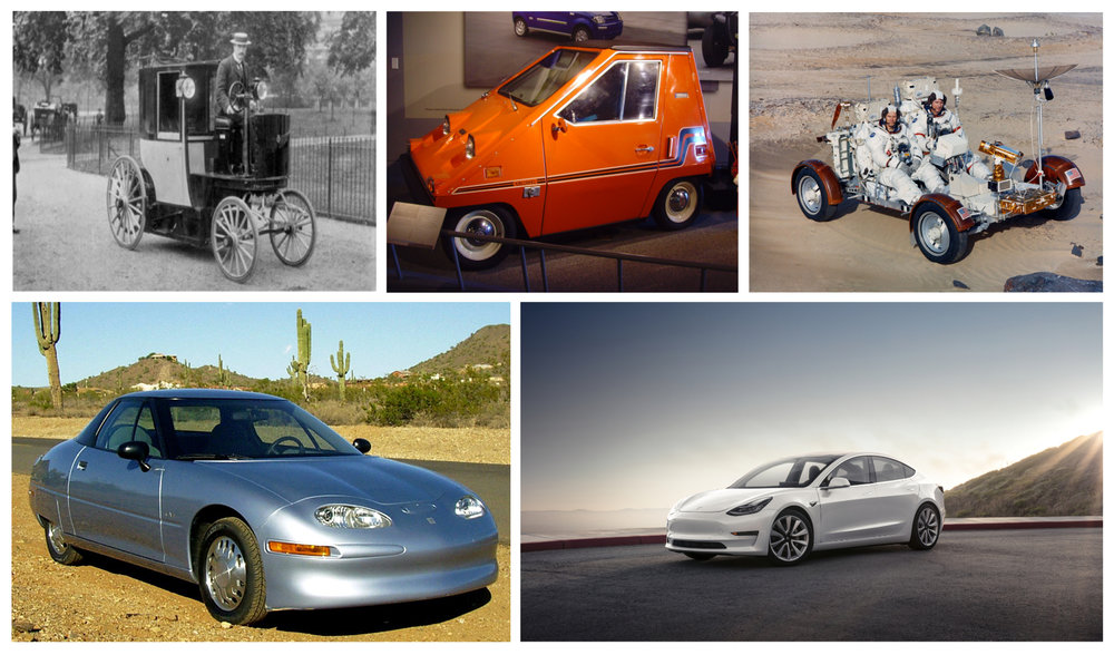Electric Vehicle History