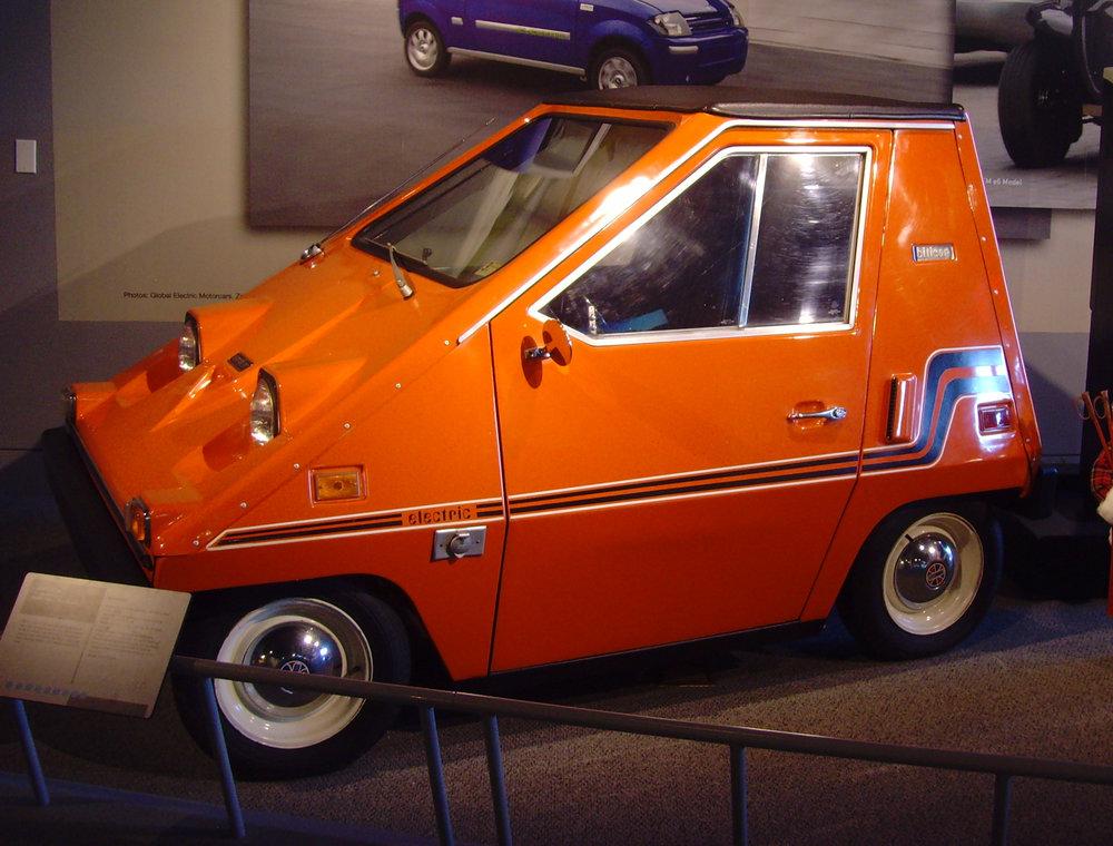 The Sebring-Vanguard, CitiCar. Produced between 1974 and 1977.