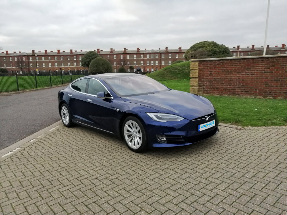 Tesla model s rental uk