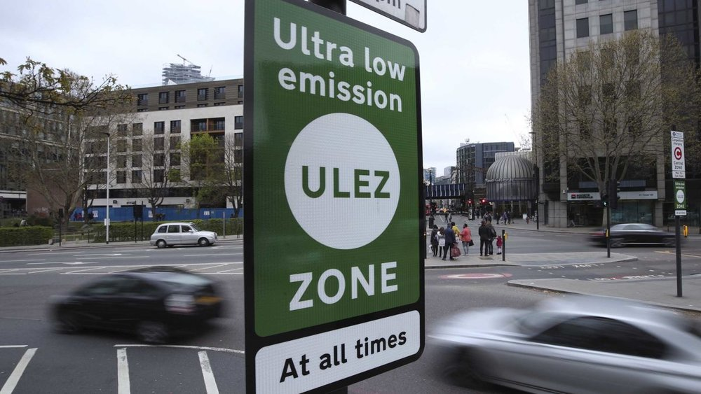 London's ULEZ (ultra low emission zone) is now active