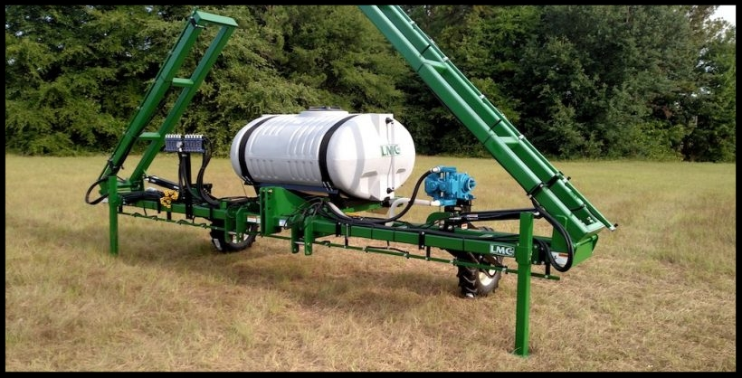 3 Point Nitrogen Applicator Dribble Unit - 150, 200, 300, 400 or 500 GALLON ELLIPTICAL TANK & SKID