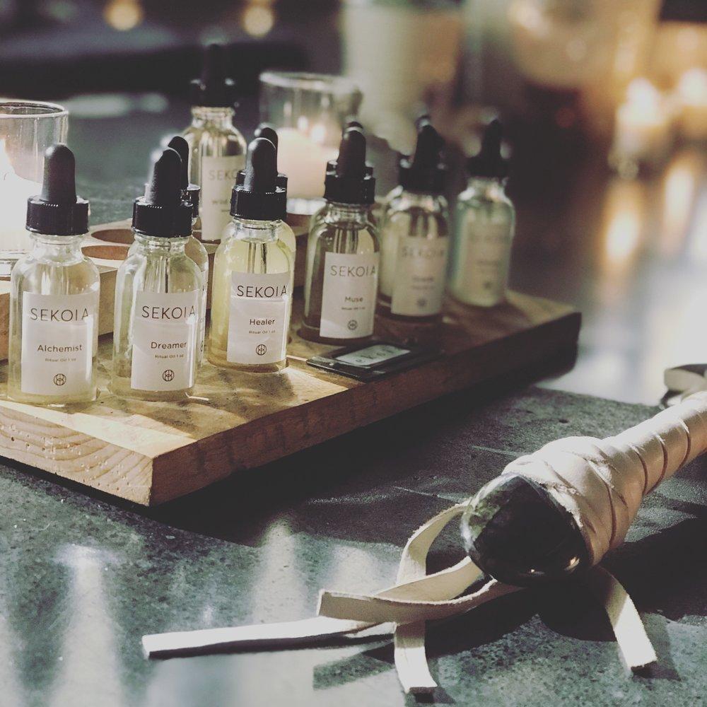 Sekoia Ritual Oils