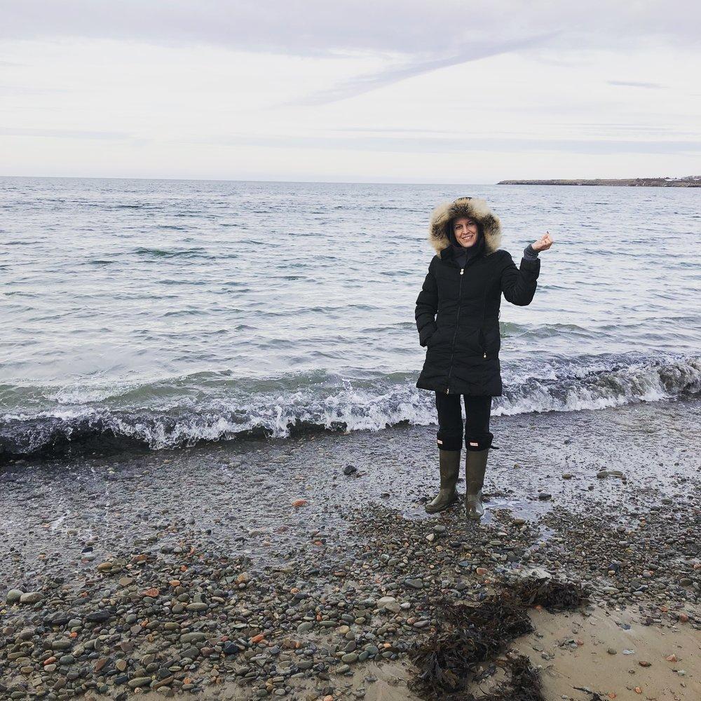 Crystal on beach.JPG