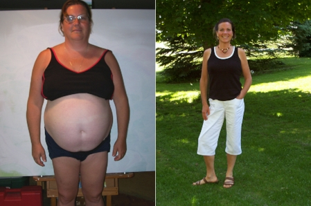 My highest weight in June 2008 was 238 lbs.                                      My lowest weight a year later is 139 lbs.                                                           [height: 5'8″]