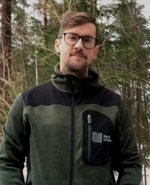 Oskar Berg , grundare och VD - Berg & Landskap