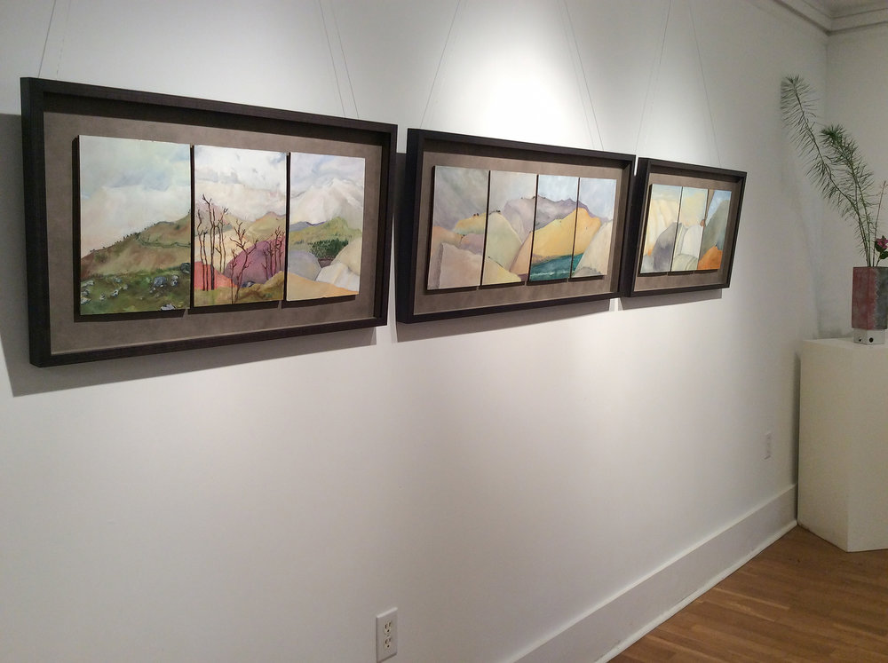 Taking the Long View  (installation shot)