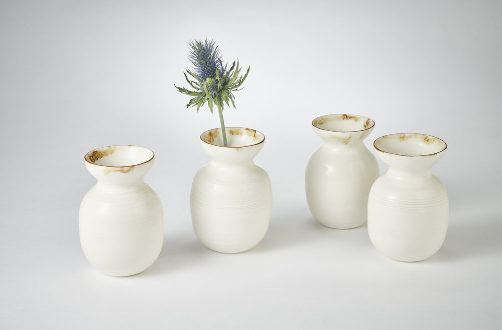 Adams K2 Ceramics Large posy vases 6.5cm x 11.5cm Photography Matthew Booth .jpg