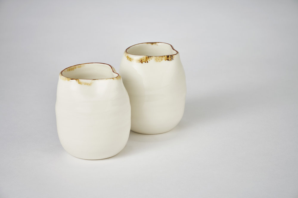 Kirsty Adams Ceramics pourers 9cm x 6cm. Photography Matthew Booth.jpg