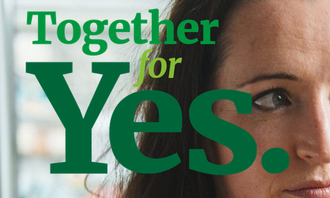 DONATE to Together for Yes with one click.   -