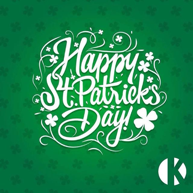 Happy St Patrick's Day everyone enjoy your weekend. Make it a good one. #weekend #stpatricksday #luckycharms