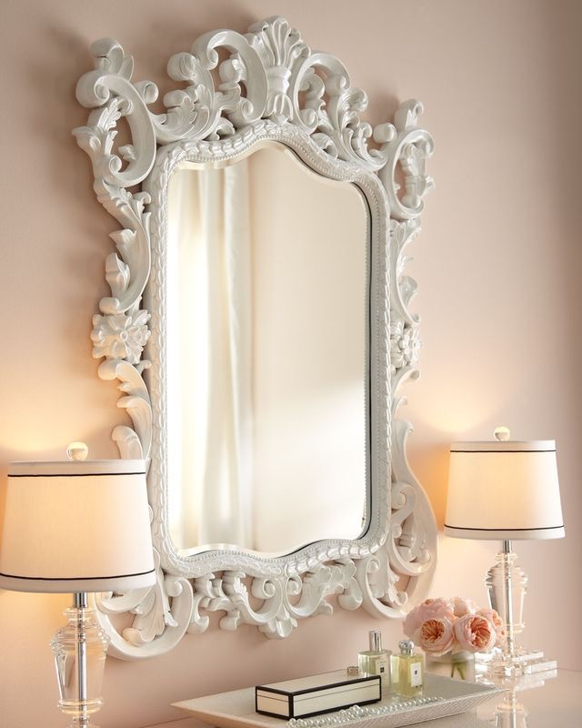 For those who have small apartments, may not have the biggest foyer. Decorating for it may be slightly difficult when it comes to finding the right mirror. While a large leaner mirror be out of the question you can jazz up a small space by making the mirror you place there untraditional with a vintage and unique frame. The Sandringham Antique White Decorative Mirror will be sure to make a statement. -
