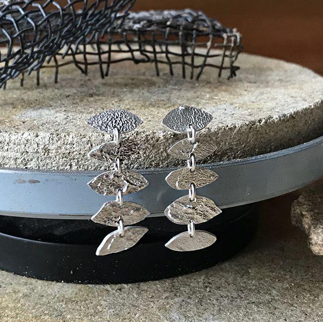 Unika sølv øreringe 🌞