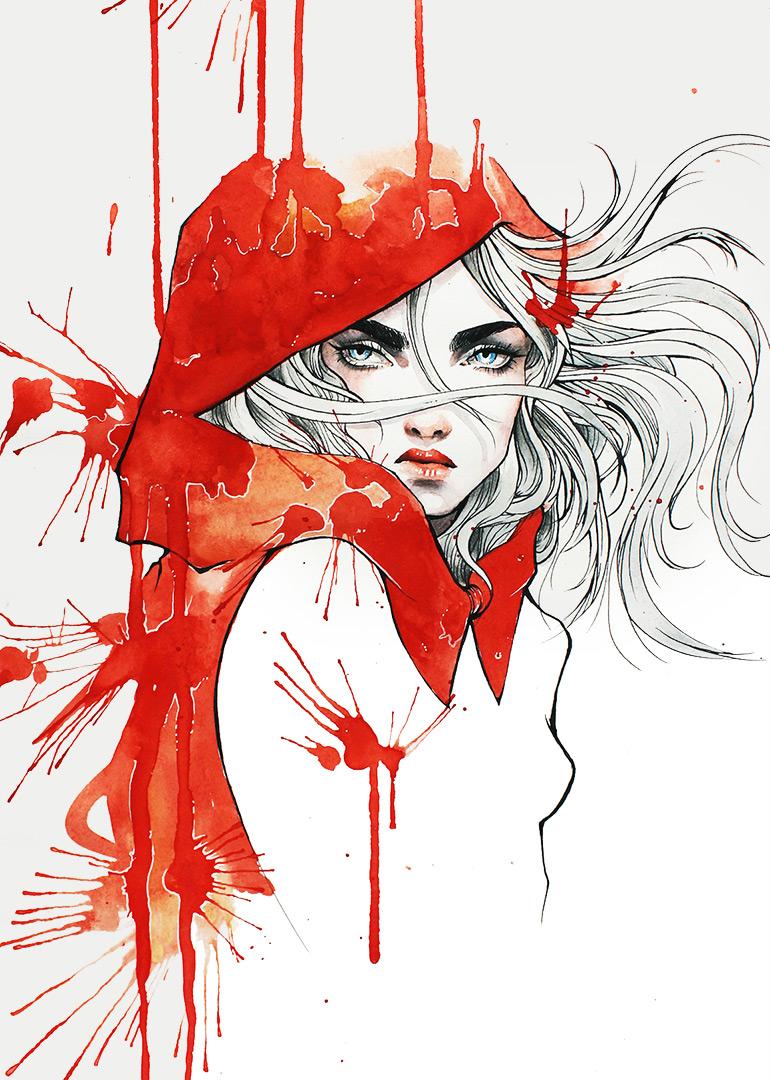 A Hood of Blood