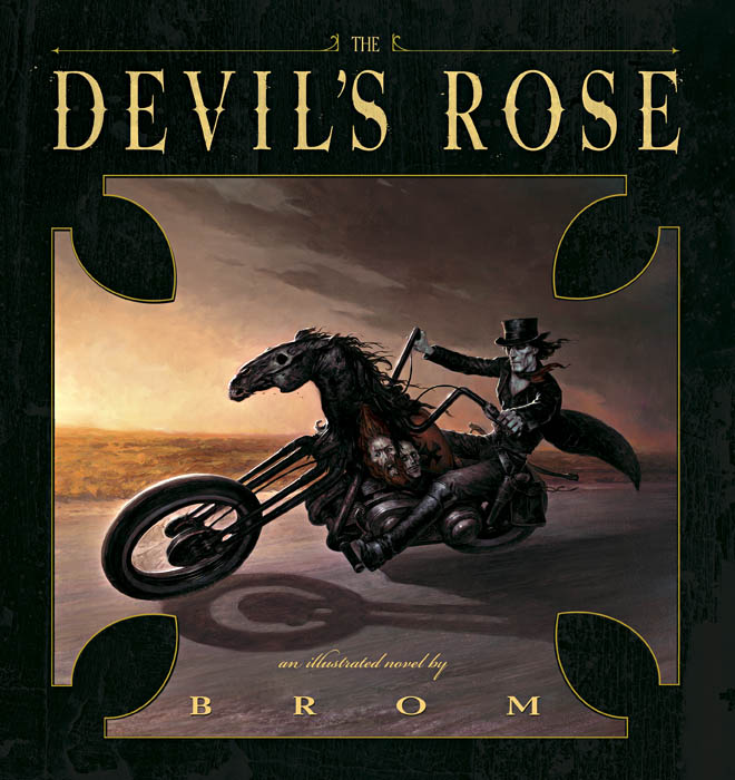 the devil's rose - Damnation is a road littered with pain, sorrow, and regret. None know this better than the man who rides that track everyday: Cole McGee, a once proud Texas Ranger, now condemned to hunt Hell's fugitives across the plains of both the living and the dead. But today Cole's luck might've changed. Something has escaped the deepest pits of damnation. Hell wants this something back at any cost and has offered Cole redemption in exchange for its apprehension. Sounds like a good deal to Cole, but as he closes in on his quarry he begins to realize you should never bargain with the Devil.Following in the tradition of his award-winning first illustrated novel
