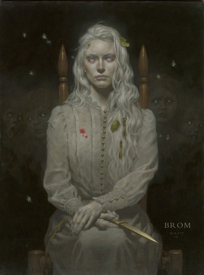 LAMIA  2015  18x24 inches, oil on board  (on hold)