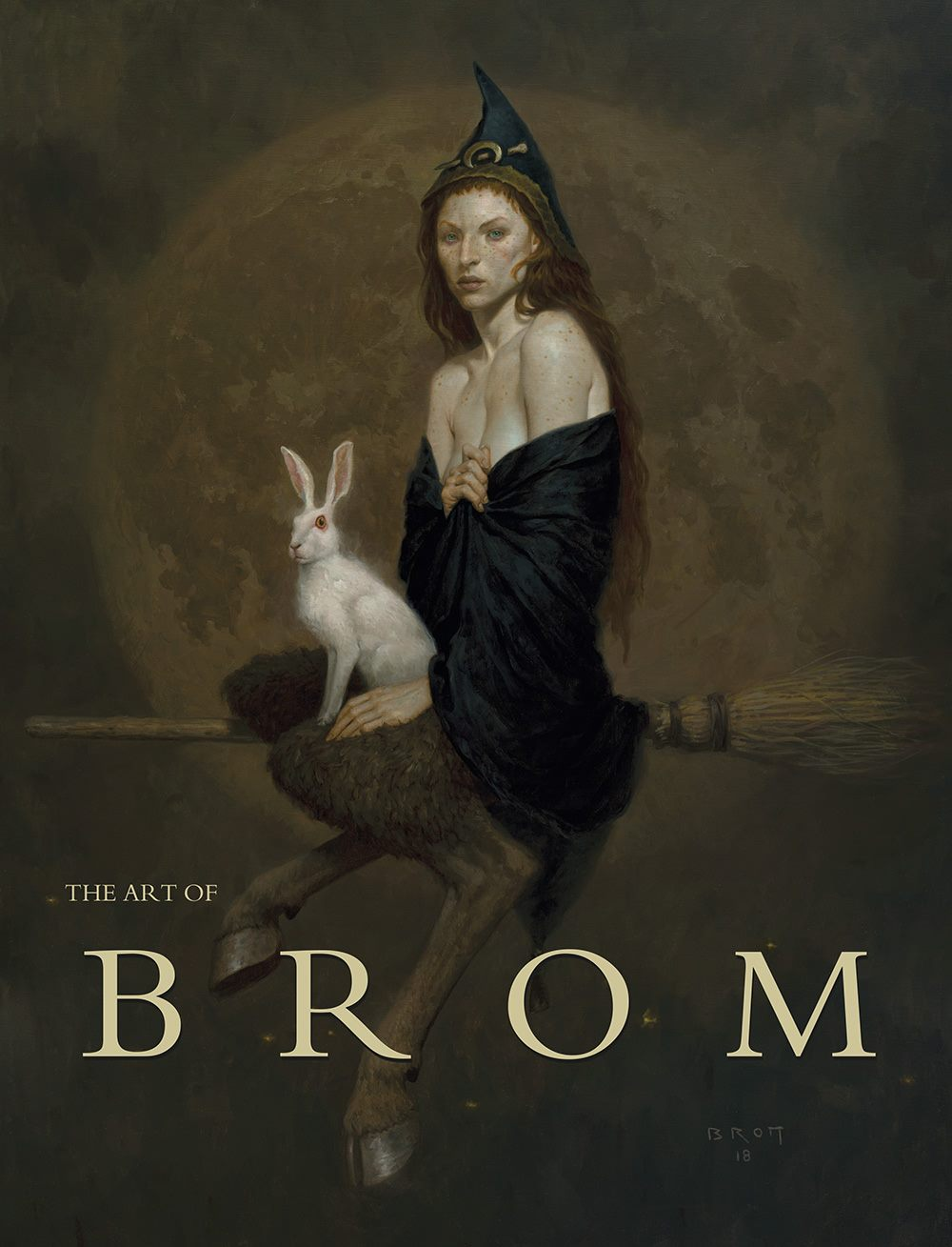 art of brom - Now available!Haunting, bizarre, beautiful and macabre—often all in the same work—Brom's dramatic and powerful paintings have vividly brought to life entire worlds and placed us face-to-face with the wicked, the ungodly and the divine. This lavishly produced retrospective contains over 200 major works spanning Brom's thirty-year career, highlighting his groundbreaking art in games, novels and film. It includes many previously unpublished images and an insightful autobiography allowing a rare glimpse into the soul and mind of this dark fantasy master.More details and order info here: Flesk Publication