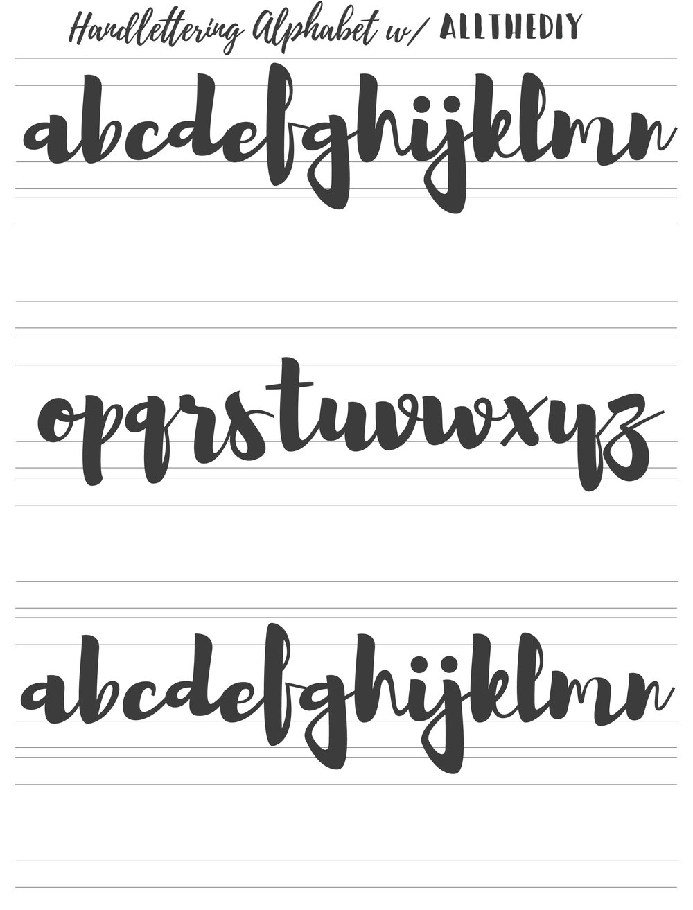 7 Best Hand Lettering Tips for Beginners Practice