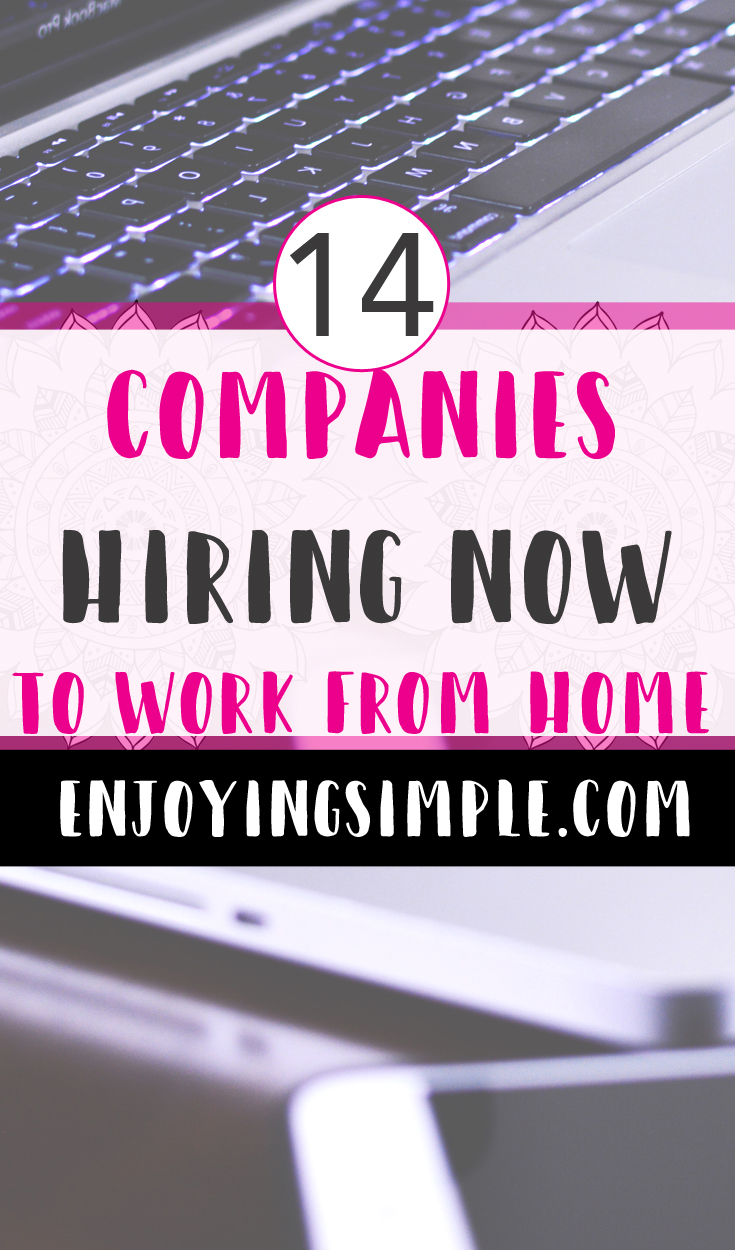 COMPANIES HIRING WORK FROM HOME