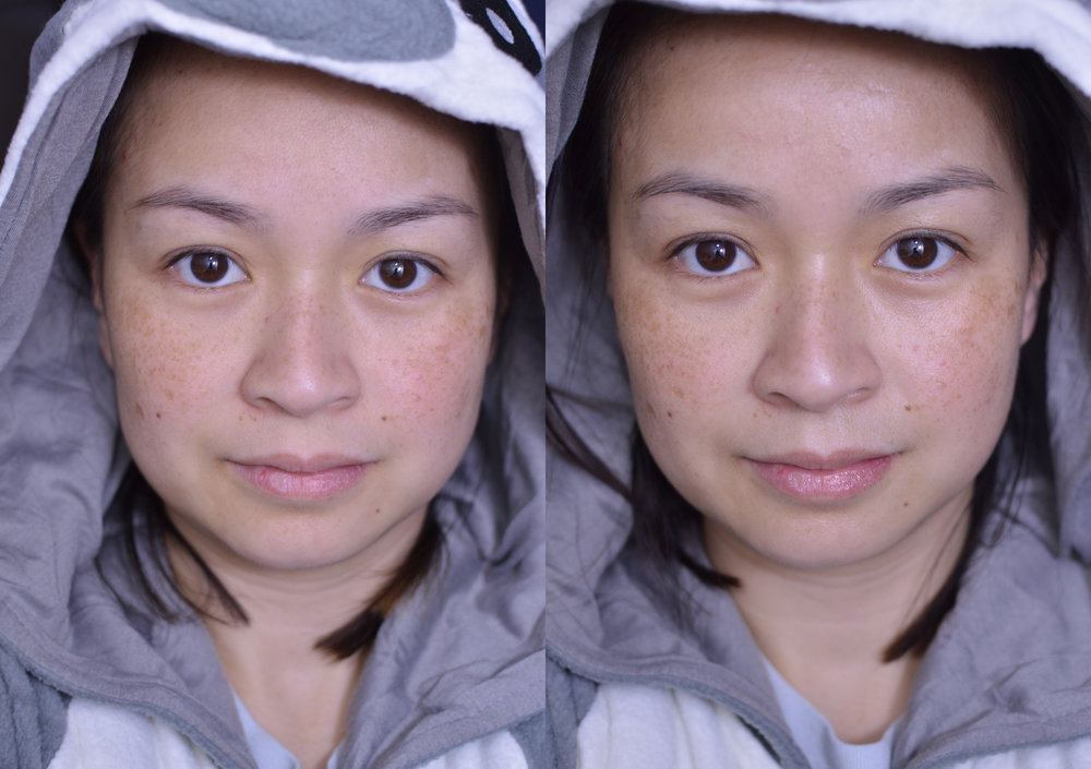 CHARLOTTE TILBURY FLAWLESS FILTER 2 BEFORE AND AFTER