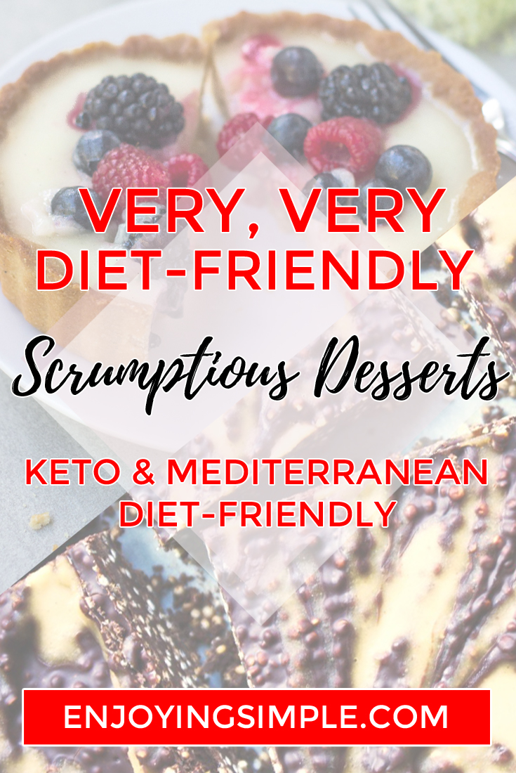 6 Mediterranean and Keto Diet Friendly Desserts - MEDITERRANEAN KETO DIET FRIENDLY DESSERTS