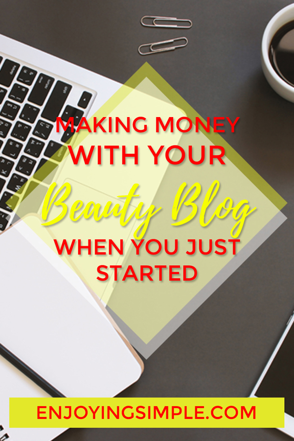 MAKING MONEY WITH BEAUTY BLOG