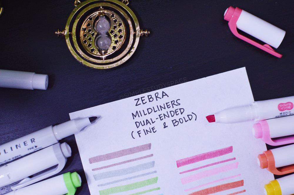 Pen Review: Zebra Mildliner Double Ended Highlighter