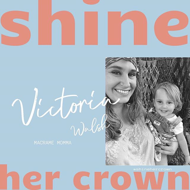 She is dedicated to her success. She is fearless. She has a smile that will light up any room. She is a Queen. She is @macramemomma! #shinehercrown