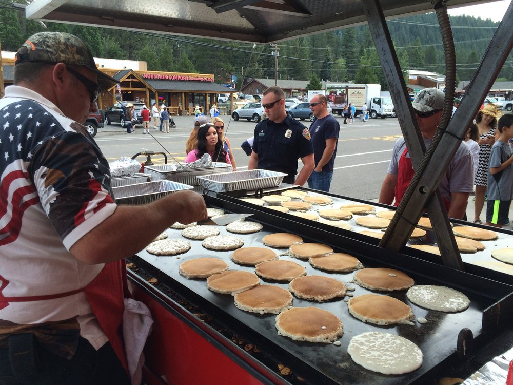 Image result for truckee pancake breakfast fire department