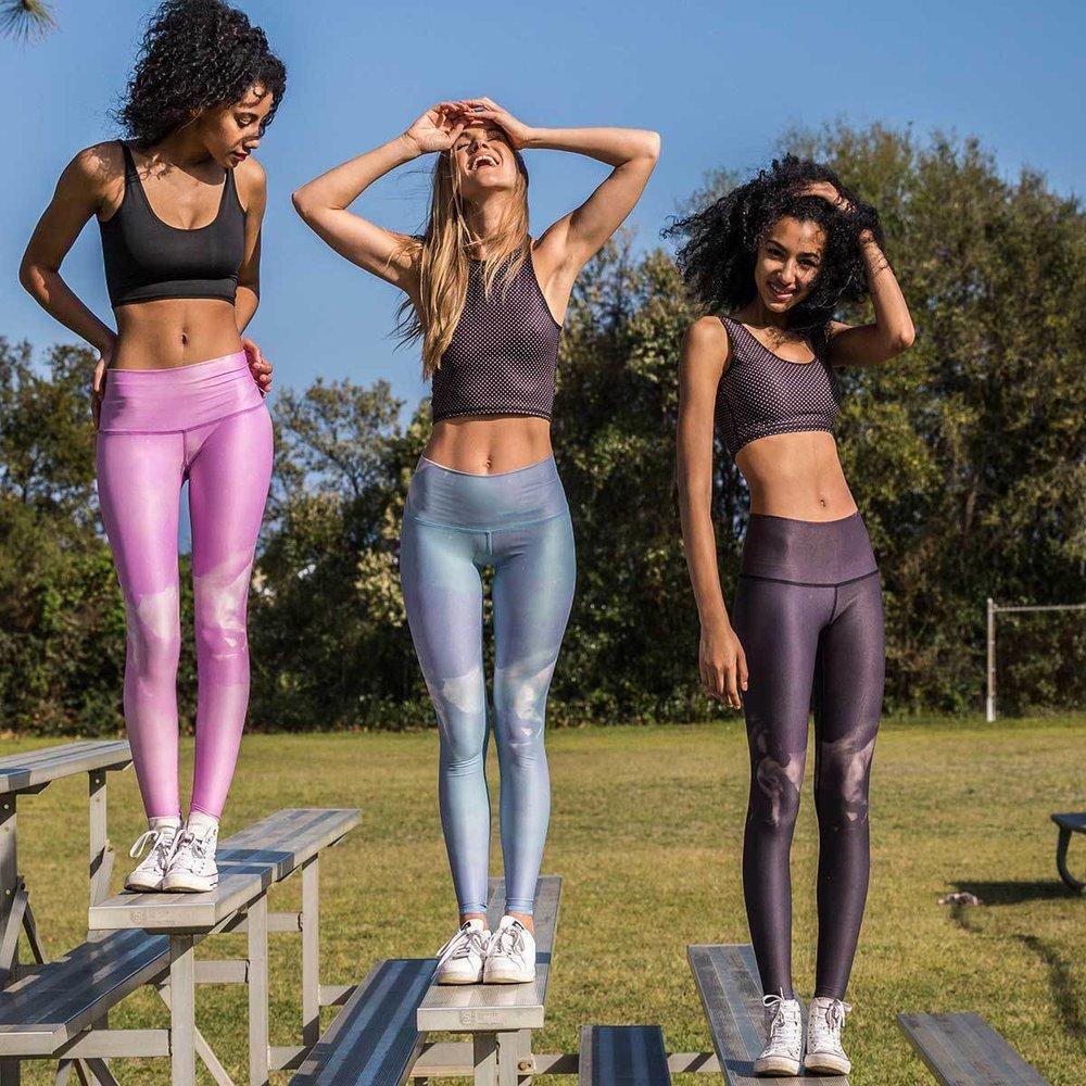 runninghorses_black_hotpant_frontview1_teeki_yoga_pant_legging_2.jpg