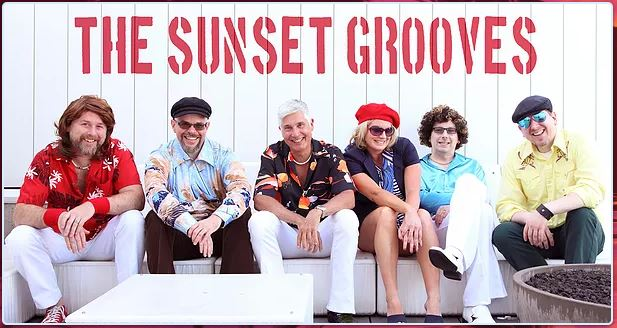 The Sunset Grooves - Chardonnay Deville - Vocals, PercussionHarry Pockethammer - Vocals, Guitar, Percussion, DrumsMiles Long - Bass, VocalsGiorgio Amore - Keys, VocalsRusty