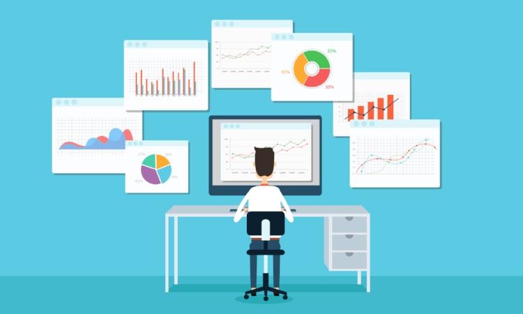 Gestion des données - Même sur une simple banque vivante de dates, les données s'alimentent, se vérifient et s'interprètent.Les bons indicateurs s'accompagnent des bons visuels.