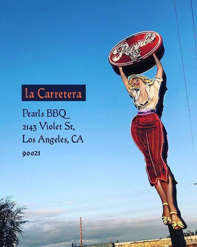 La Carretera Show taking place Sunday March 25th at Pearls BBQ 2143 Violet St. Los Angeles 90021 Doors open at 11am. 🇲🇽🇺🇸🏁