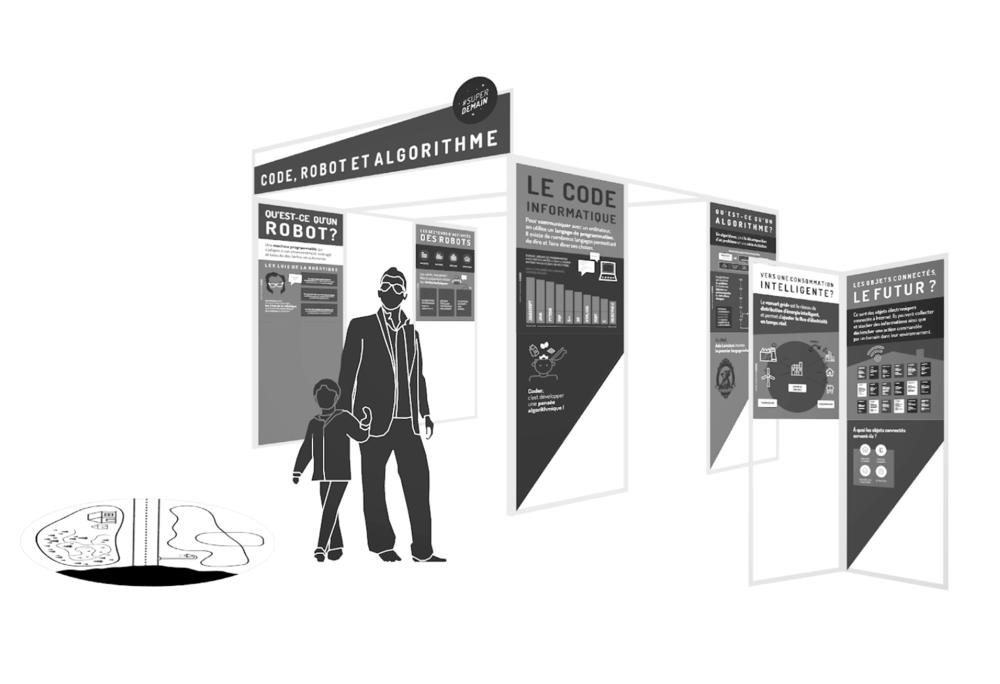 18 CABANES POUR DÉVELOPPER SA CULTURE NUMÉRIQUE - #MEDIATION #INTERACTIF #JOUER #APPRENDRE #AUTONOMIE #EXPOSITIONLes cabanes thématiques sont des dispositifs de médiation interactifs créés par Fréquence Écoles pour favoriser la découverte par la pratique et l'autonomie. Il s'agit de rendre accessible la découverte d'un thème pour tous les publics, en leur permettant de jouer, de résoudre des problèmes et de découvrir l'ensemble des thèmes des cultures numériques.