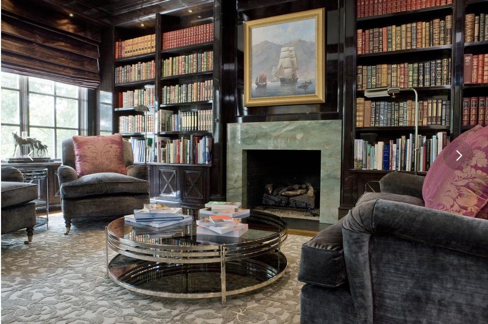 Design by  Brown Davis Interiors .