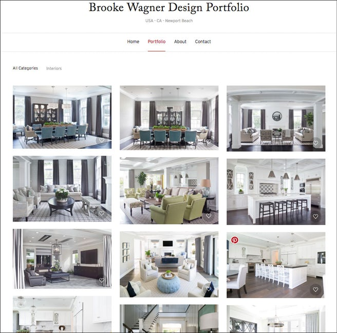 Interior Design Portfolio of  Brooke Wagner