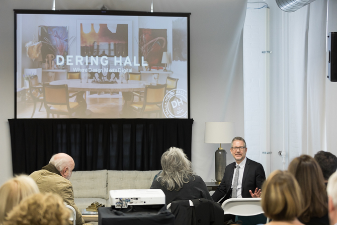 Michael Boodro provides some insight on how Dering Hall has bridged the gap between design and digital.