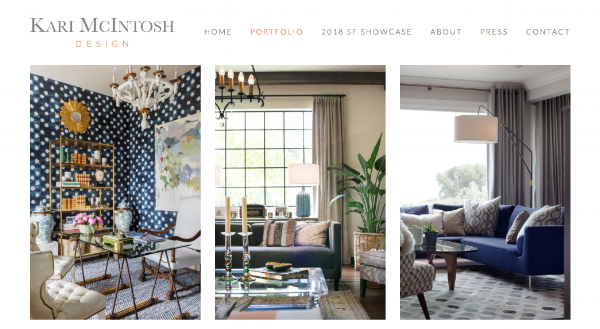 Website of Dering Hall Member  Kari McIntosh