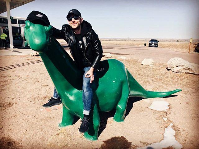 Tour has been Dino-myte so far. See you tonight, Colorado Springs! #settleyourscores #band #poppunk #dinosaur #colorado #tour