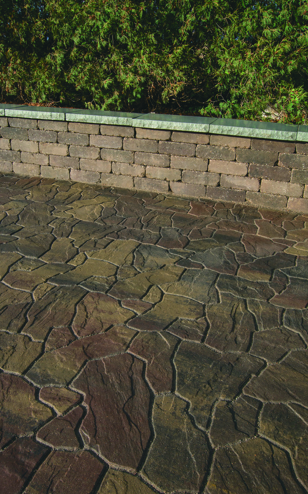 Flagstone Concrete Pavers - Image courtesy of Interlock