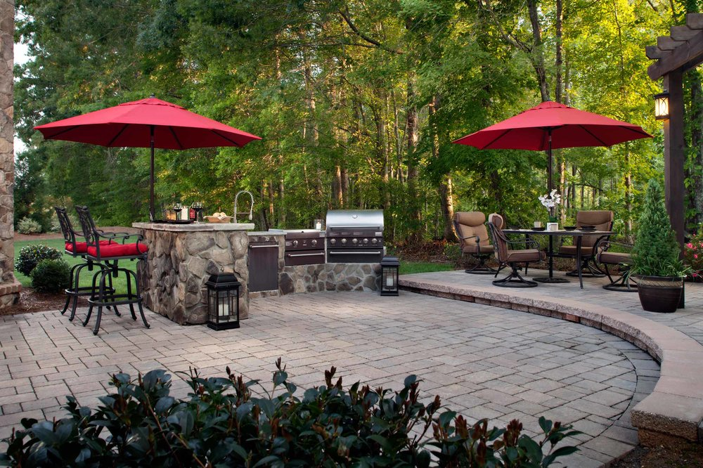 Patio pavers and hardscaping add value to your home