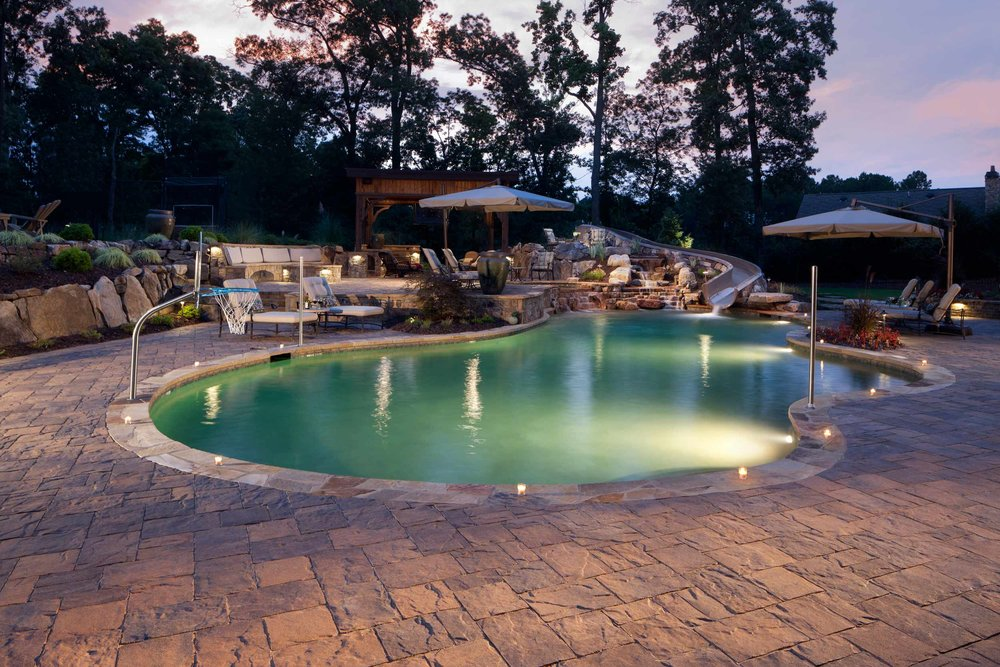 Pool Deck Paver Patio Ideas